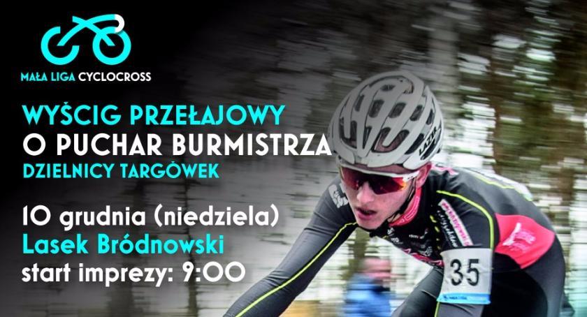 rowery, Wyścig kolarstwie przełajowym Puchar Burmistrza Dzielnicy Targówek - zdjęcie, fotografia