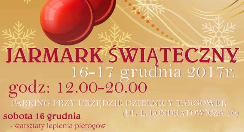 imprezy plenerowe, Jarmark Świąteczny Targówku - zdjęcie, fotografia