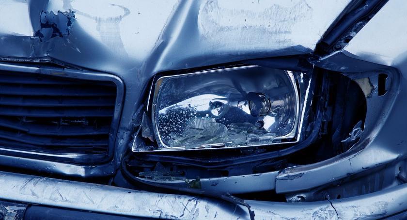 Na Sygnale , Wypadek Trasie Toruńskiej Zablokowane - zdjęcie, fotografia