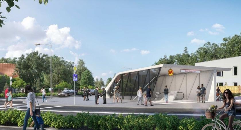 komunikacja, Rusza przetarg budowy metra Bródno Zobacz wizualizacje stacji - zdjęcie, fotografia