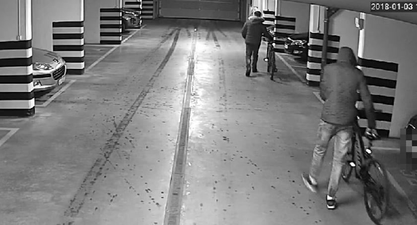 bezpieczeństwo, Ukradli rowery Malborskiej Szuka policja - zdjęcie, fotografia