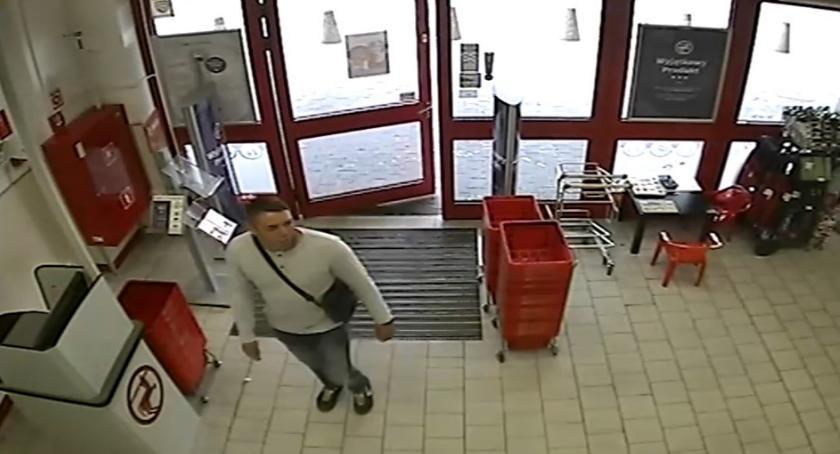 bezpieczeństwo, Kojarzysz mężczyznę Dokonał kradzieży drogerii - zdjęcie, fotografia
