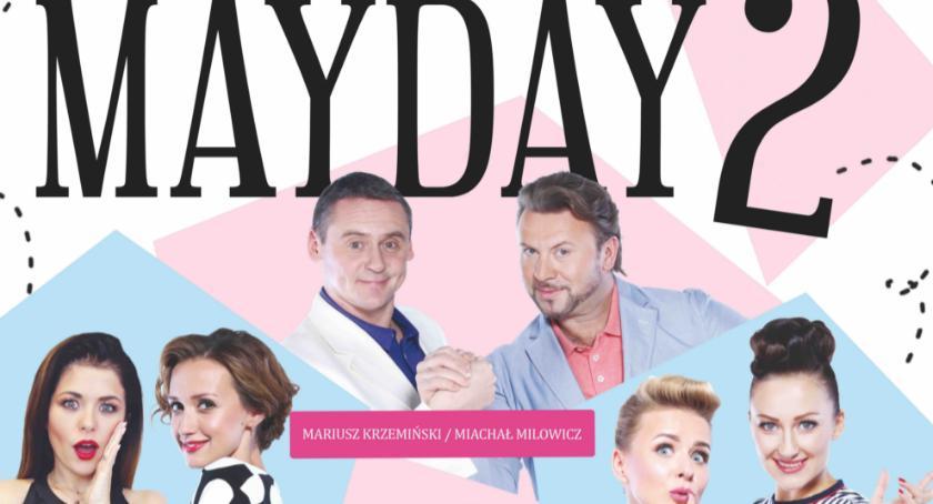 rozrywka, KONKURS! wygrania podwójne zaproszenie teatru Mayday - zdjęcie, fotografia
