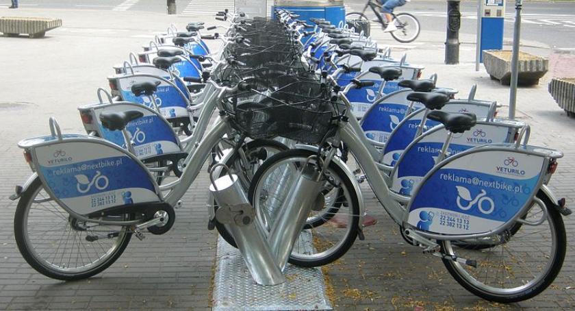 rowery, Zmiany lokalizacji stacji rowerowych stacja Veturilo Targówku - zdjęcie, fotografia