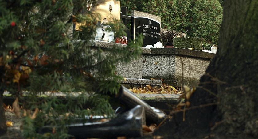 Cmentarz Bródnowski , Pogoda Bródna Święto Zmarłych - zdjęcie, fotografia