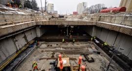 Budowa stacji metra na Targówku