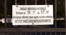 Zarząd Cmentarza informuje...