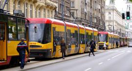 Awaria tramwaju na Bazyliańskiej