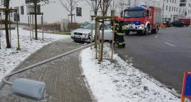 Wypadek na ulicy Montwiłłowskiej