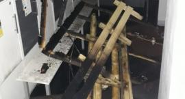 Pożar w siłowni przy Dalanowskiej [ZDJĘCIA]