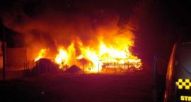 Pożar pustostanu w nocy na Targówku