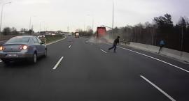 Groźny wypadek na S8 - Marki. Wstrząsające nagranie [21.03.2019]