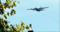 Lotnicze ćwiczenia nad Targówkiem