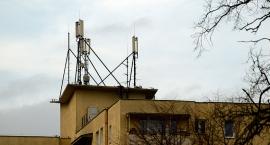 Anteny przy Wysockiego 2