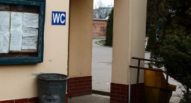 WC na Cmentarzu Bródnowskim