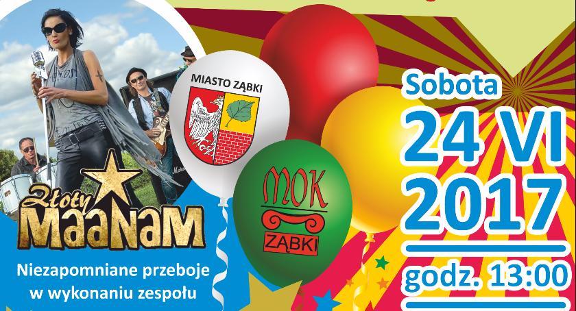 Koncert, Festy Miejski lecia nadania miejskich miastu Ząbki - zdjęcie, fotografia