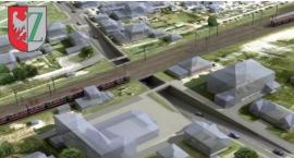 Zielonka - Tunel kolejowy na linii ulicy Kolejowej ,