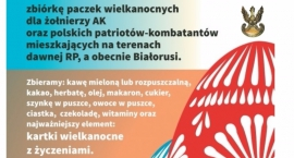 Wołomin - Paczka świąteczna dla Żołnierza AK na kresach