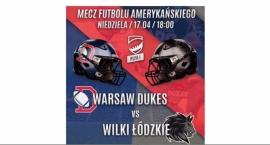 Ząbki – Futbol amerykański mecz 17 kwietnia o 18.00