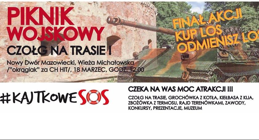 Akcje społeczne, Piknik wojskowy Wieżą Michałowską - zdjęcie, fotografia