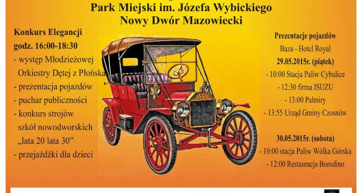 Spotkania, Nowodworski Międzynarodowy Pojazdów Zabytkowych - zdjęcie, fotografia