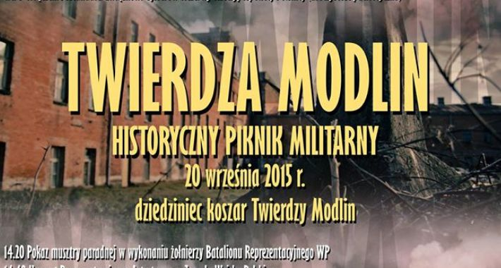 Historia, Twierdza Modlin spotkania historyczne - zdjęcie, fotografia