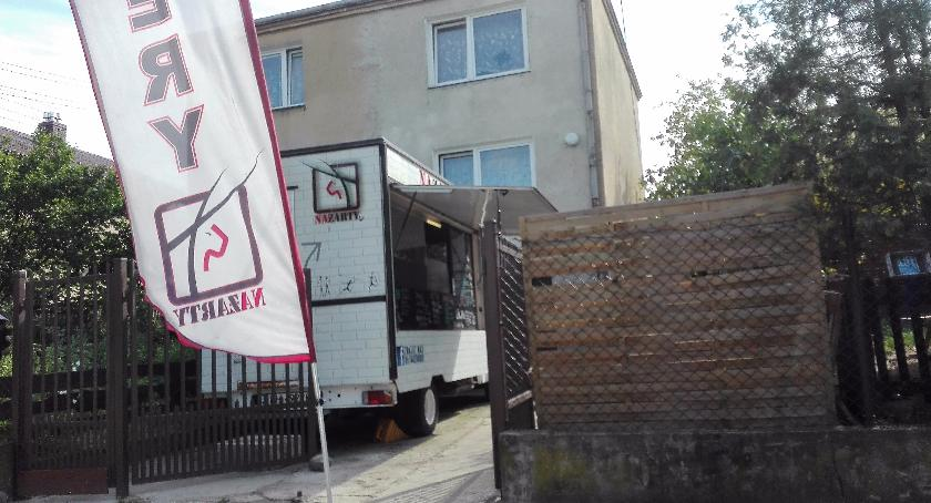 """Handel i usługi, Nowa"""" fastfudziarnia"""" Szyszków - zdjęcie, fotografia"""