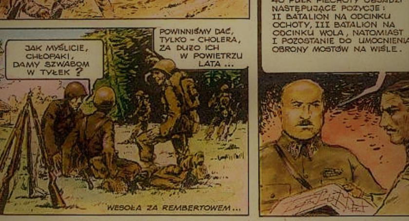 Historia, Wzmianka Rembertowie komiksie końca siedemdziesiątych - zdjęcie, fotografia