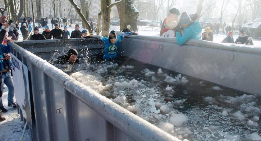 Bieganie, Zimowy Runmageddon Rekrut Hardcore - zdjęcie, fotografia