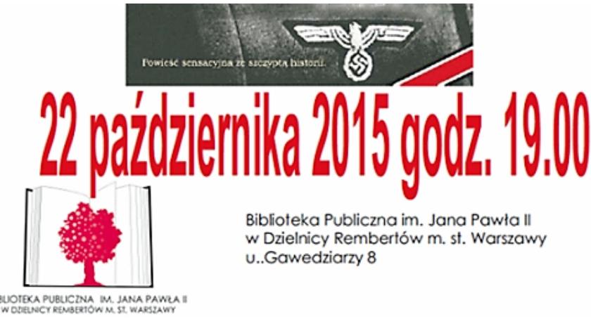 Interwencje, Głos sprawie rembertowskiej Biblioteki - zdjęcie, fotografia