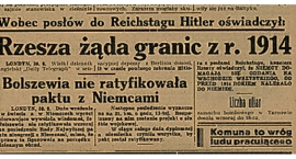 77 lat temu Stalin z Hitlerem podpisali IV rozbiór Polski