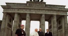 Święty Kościoła i ojciec zjednoczonej Europy