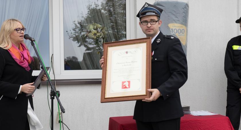 Stowarzyszenia i organizacje, Strażacy Rachcinie świętowali lecie - zdjęcie, fotografia