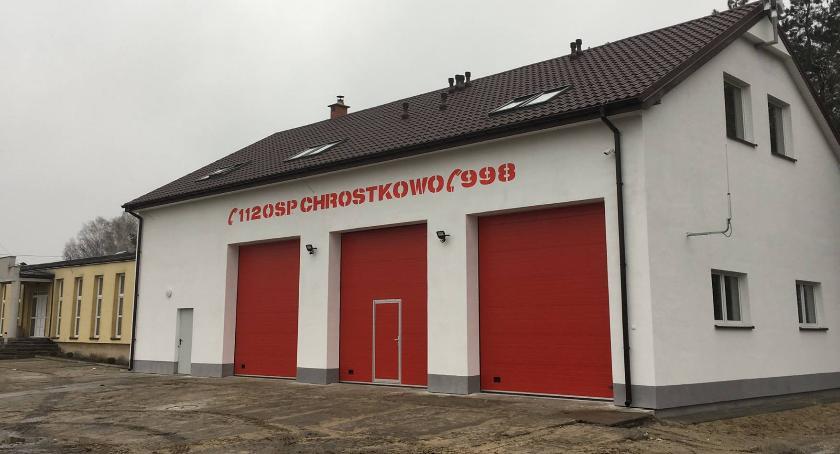 Inwestycje, gminie Chrostkowo zakończyli inwestycyjny - zdjęcie, fotografia