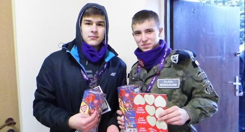 Akcja charytatywna, Atrakcyjny finał WOŚP Skępem - zdjęcie, fotografia