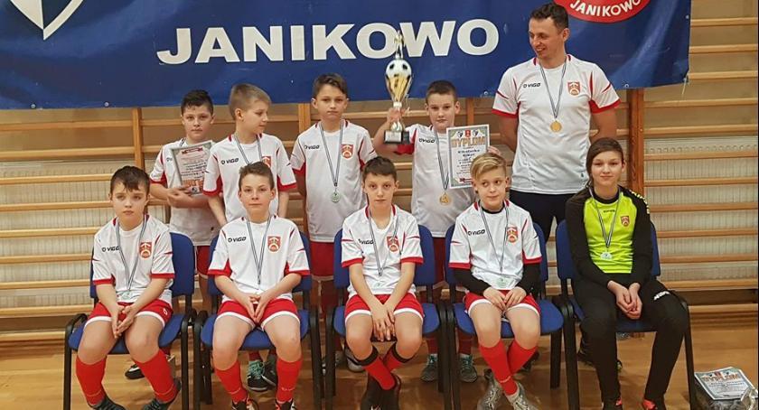 Piłka nożna, Kikolanka sukcesami - zdjęcie, fotografia