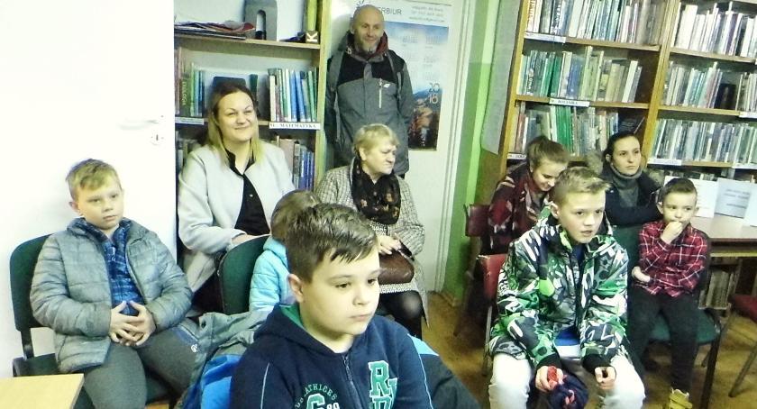 Biblioteki, urodziny biblioteki Skępem - zdjęcie, fotografia