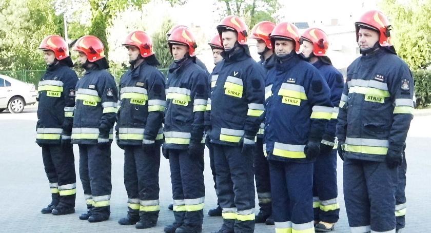 Wydarzenia lokalne, Strażacy stanęli apelu - zdjęcie, fotografia