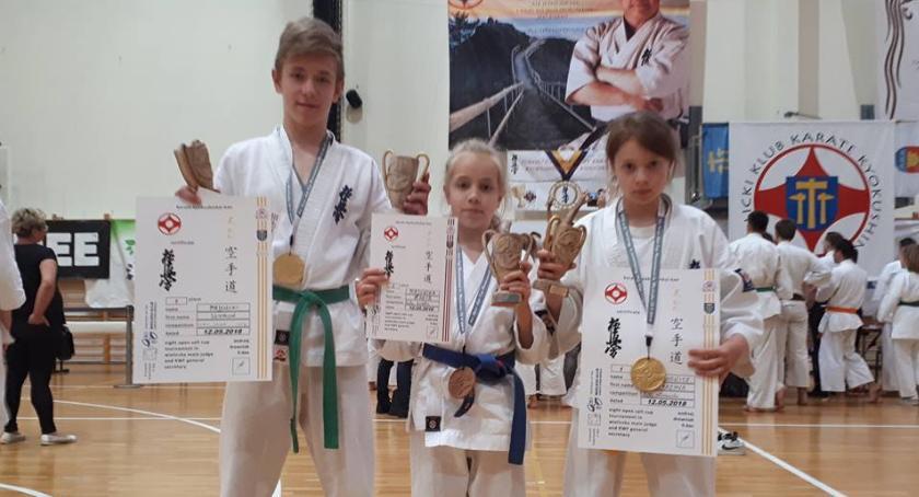 Sztuki walki, Trójka medalami - zdjęcie, fotografia