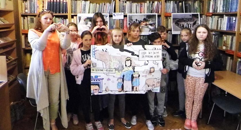 Biblioteki, Humanitarna książnica - zdjęcie, fotografia