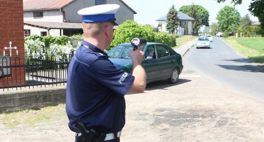 Kronika kryminalna, Wpadka nadpobudliwego kierowcy - zdjęcie, fotografia