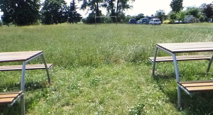 Interwencje, Kleszcze boisku Łąkiem - zdjęcie, fotografia