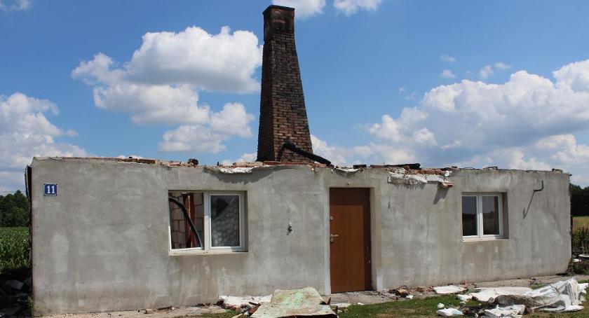 Pożary, Dorobek życia spłonął pożarze - zdjęcie, fotografia