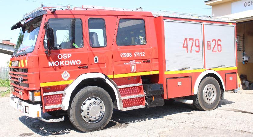 Interwencje, Strażacy zOSP Mokowo czują dyskryminowani - zdjęcie, fotografia