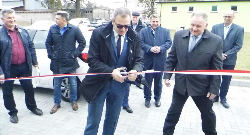 Inwestycje, Otwarcie oczyszczalni Radomicach - zdjęcie, fotografia