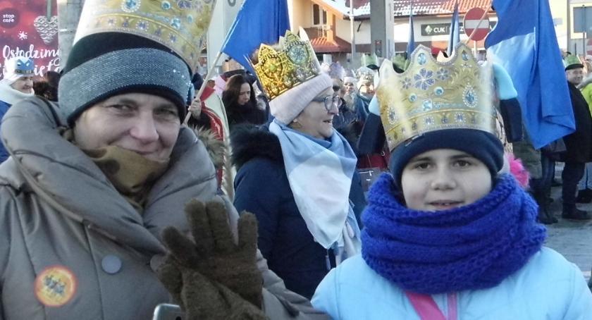 Wydarzenia lokalne, Trójbarwny orszak królewski - zdjęcie, fotografia
