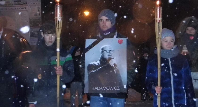 Wydarzenia lokalne, Solidarni Gdańskiem przeciw przemocy - zdjęcie, fotografia