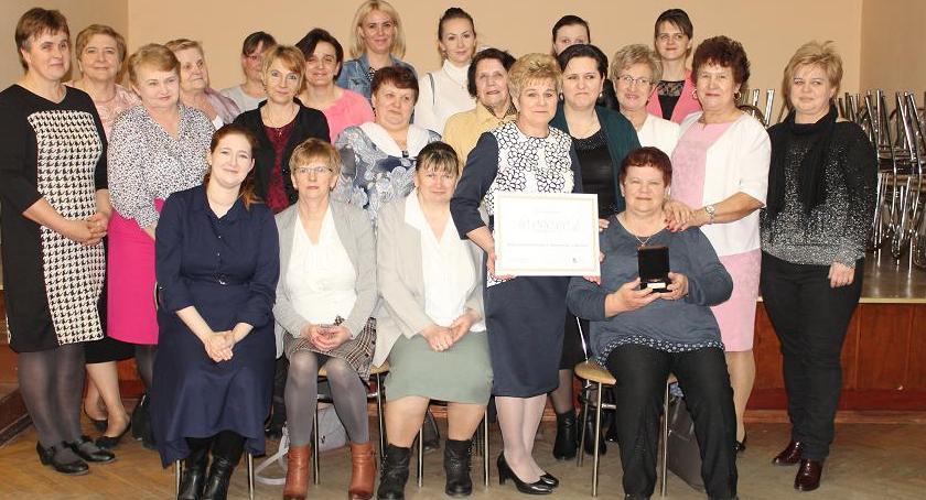 Stowarzyszenia i organizacje, Mokowianki uhonorowane nagrodą Józefa Ślisza - zdjęcie, fotografia