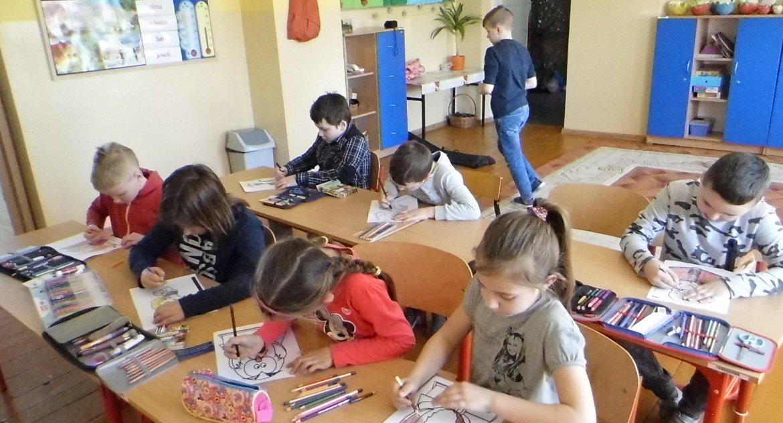 Edukacja, Koniec szkoły Łąkiem - zdjęcie, fotografia