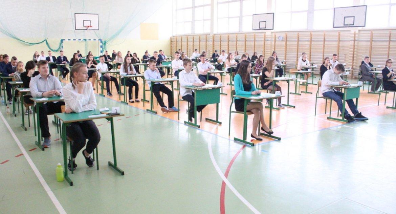 Edukacja, Strajk wstrzymał egzaminów - zdjęcie, fotografia